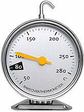 Edelstahl Backofenthermometer,