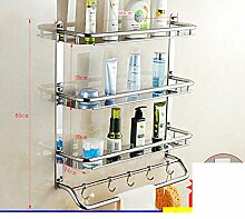 Edelstahl Badezimmerzahnstangen/Toiletten Toiletten Toiletten Sanitär Handtuchhalter-X