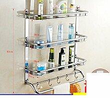 Edelstahl Badezimmerzahnstangen/Toiletten Toiletten Toiletten Sanitär Handtuchhalter-W