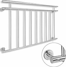 Edelstahl Balkongitter V2A französischer Balkon