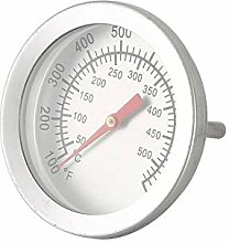 Edelstahl BBQ Barbecue Smoker Grill Thermometer