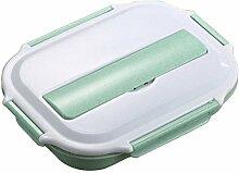 Edelstahl Brotdose mit Unterteilung Bento Box