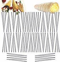 Edelstahl Cannoli Form Röhren, Konische Rohr