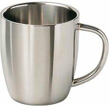 Edelstahl Cappuccino Isolierbecher Edelstahlbecher Thermobecher Becher Tasse 0,3 l