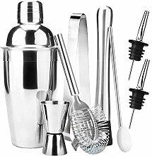 Edelstahl Cocktail Shaker Bar Set-Werkzeuge Mit