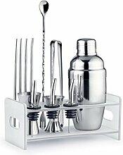 Edelstahl Cocktail Shaker set-bar Tools 12-teilig