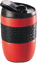 Edelstahl Coffee-to-go Becher Thermo 260 ml