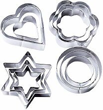 Edelstahl Cookie Cutter Fondant Cutter Sets