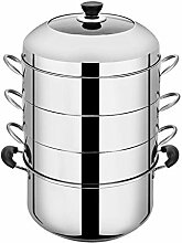 Edelstahl-Dampfgarer, eingedickter,