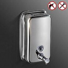 Edelstahl Dusche dispenser,Punch-frei