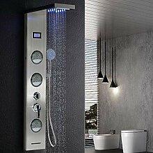 Edelstahl Duschpaneel Duschsäule Regendusche