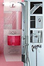 Edelstahl Duschpaneel von Sanlingo. Duschsäule
