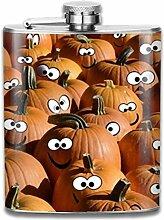 Edelstahl-Flachmann für Herren, naughty Pumpkin