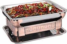 Edelstahl gegrillten Fisch Carbon Ofen gegrillten Fisch Gericht Haushalt Rauchfreie Alkohol Kaminofen anthrazit, S