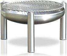Edelstahl Grill, Ø 80 cm, RICON, deutsche