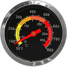 Edelstahl Grill BBQ Smoker Grill Thermometer