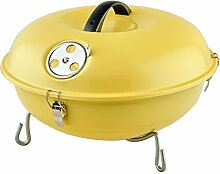Edelstahl-Grill-Sets Holzkohlegrill,Yellow