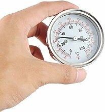 Edelstahl-Grill-Thermometer für einen