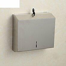Edelstahl Handtuch Regal Bad,Toilettenpapier-regal,Bad Kleenexbox,Tray,Wc-papierrolle Pappschachtel