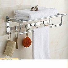Edelstahl Handtuchhalter/Der Raum gefaltet Handtuchhalter/Bad-Accessoires-A