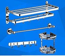 Edelstahl Handtuchhalter/ Falten Handtuchhalter/Racks/Bad Bad-Accessoires set-C