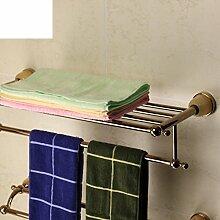 Edelstahl Handtuchhalter/[Handtuchhalter]/Racks/Bad-Accessoires/ Badezimmer Sets-D