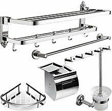 Edelstahl Handtuchhalter/Tuch/Badezimmerzahnstangen/Bad-Accessoires Paket -G