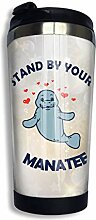 Edelstahl-Kaffeetasse Manatee Heart Insulated