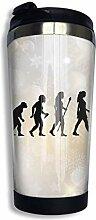 Edelstahl-Kaffeetasse Netball Evolution Insulated