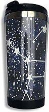 Edelstahl-Kaffeetasse Stars Constellation