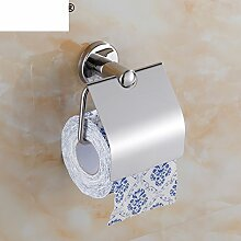 Edelstahl Kleenexbox,Toilettenpapier-halter,Toilettenpapier-regal,Toilettenpapierhalter,Bad Wasserdichte Toilettenpapier Kasten