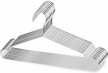 Edelstahl Kleiderbügel Puersit Edelstahl Starke Metall Wire Kleiderbügel für Kleider 17 Zoll-Set von 20