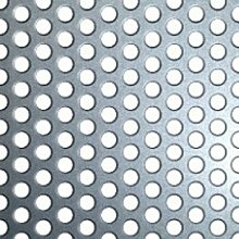 Edelstahl Lochblech 250 x 500 mm 1 mm blank blech edelstahlblech