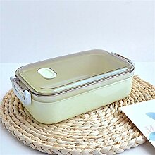Edelstahl Lunch Box 800ml-Kapazität Mikrowelle