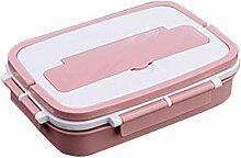 Edelstahl Lunchbox Groß Brotdose, Bento Box