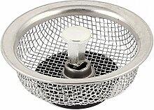 Edelstahl Masche Netz Küche Spüle Filter Rückstand Netz Waschbecken Sieb