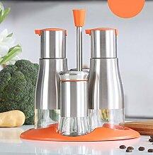 Edelstahl-Öl Und Essig-Flaschen Küche