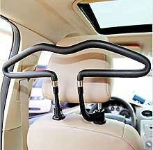 Edelstahl Plus PVC Auto Kleiderbügel Rücksitz