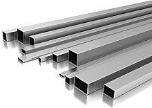 Edelstahl Rechteckrohr 80 x 60 x 2 mm x 2.000 mm