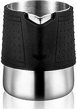 Edelstahl-Silikon-Milch-Schaumstoff-Kugel