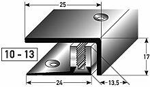 Edelstahl SLP-Abschlussprofil 90cm – silber, 10