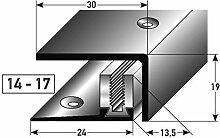 Edelstahl SLP-Abschlussprofil 90cm – silber, 14