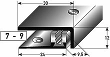 Edelstahl SLP-Abschlussprofil 90cm – silber, 7