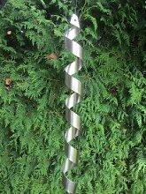 Edelstahl Spirale Windspiel Gartendeko Feng Shui