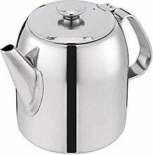 Edelstahl Teekanne Kaffeekanne Wasserkocher mit
