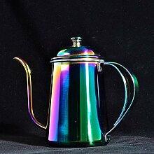 Edelstahl-Teekanne, modisch, Edelstahl, 650 ml,
