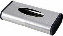 Edelstahl Tissue Box Pumping Kartons Hotel KTV Wohnzimmer Couchtisch Papier Serviette Bar ( Farbe : B )
