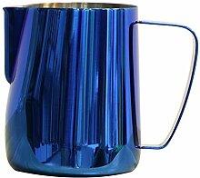 Edelstahl Titan Blau Espresso-Kaffee-Krug in der