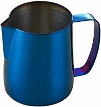 Edelstahl Titanium Blue Espresso-Kaffee-Pitcher in