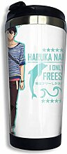 Edelstahl Travel Kaffeetasse, Anime Free! Haruka